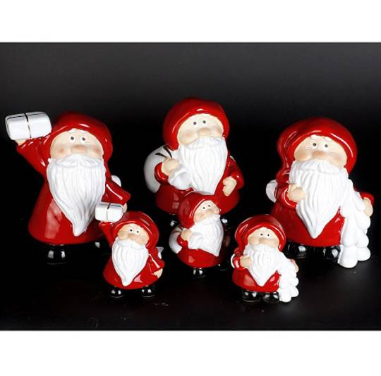 Ceramic Happy Santa