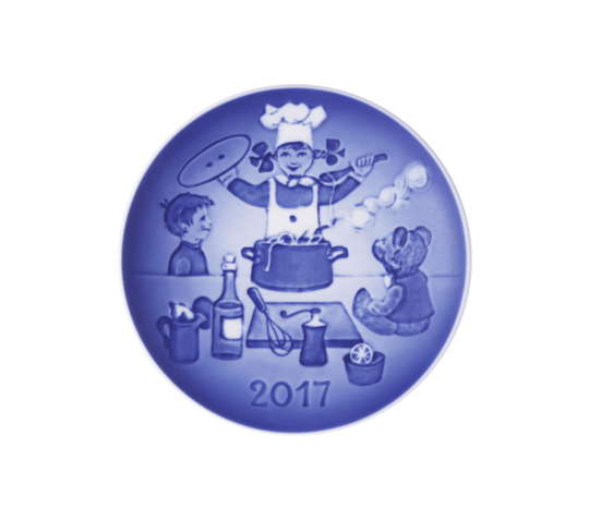 Bing & Grondahl Annual Childrens Day Plate 2017