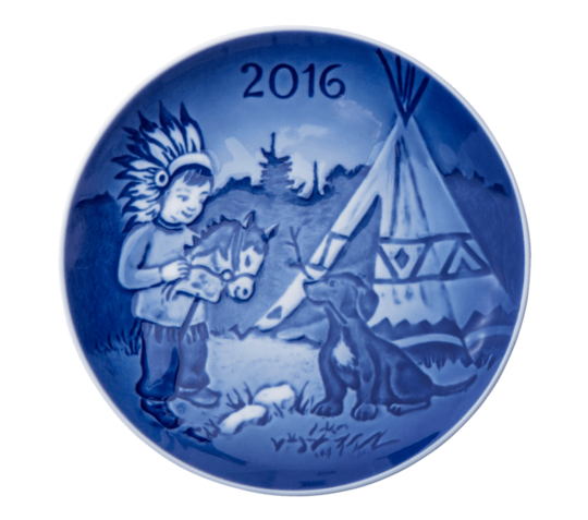 Bing & Grondahl Childrens Day Plate, 2016
