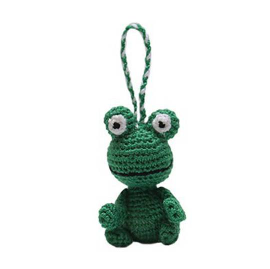 Mini Crocheted Frog