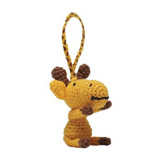 Mini Crocheted Giraffe