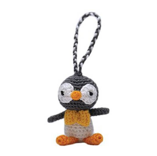 Mini Crocheted Penguin