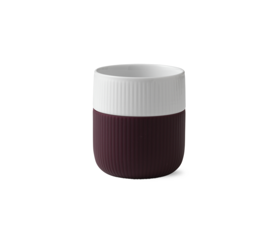 Royal Copenhagen Porcelain Mug w/ Silicon Sleeve 330ml Plum