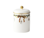 Starfluted Christmas Canister