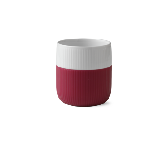 Royal Copenhagen Porcelain Mug w/ Silicon Sleeve 330ml Raspberry
