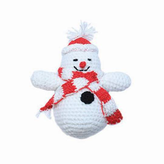 Small Crocheted Snowman