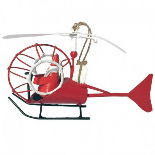 Tin Santa in Helicopter SOLD OUT